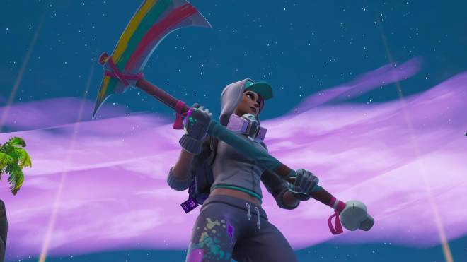 Fortnite: Battle Royale - Spraying up the city... 🤩✨❗ (Teknique Showcase *with various sprays*) image 4