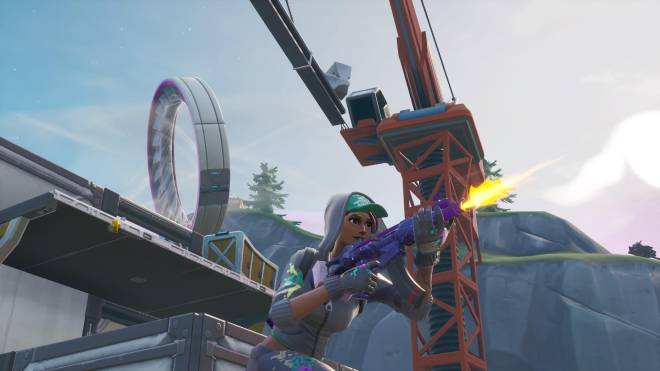Fortnite: Battle Royale - Spraying up the city... 🤩✨❗ (Teknique Showcase *with various sprays*) image 9