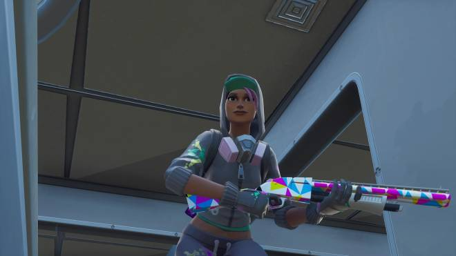 Fortnite: Battle Royale - Spraying up the city... 🤩✨❗ (Teknique Showcase *with various sprays*) image 17