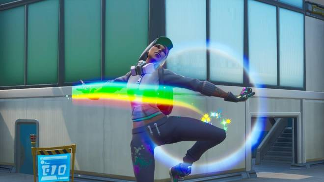 Fortnite: Battle Royale - Spraying up the city... 🤩✨❗ (Teknique Showcase *with various sprays*) image 12