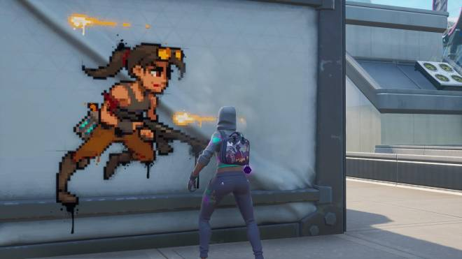 Fortnite: Battle Royale - Spraying up the city... 🤩✨❗ (Teknique Showcase *with various sprays*) image 7