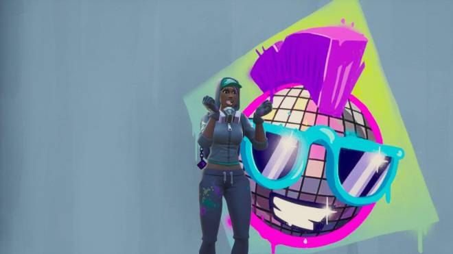 Fortnite: Battle Royale - Spraying up the city... 🤩✨❗ (Teknique Showcase *with various sprays*) image 14