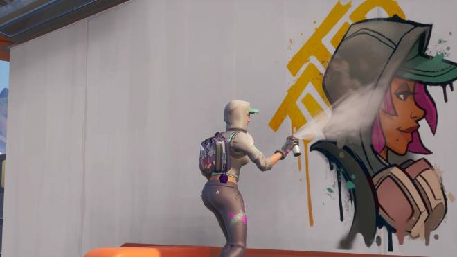 Fortnite: Battle Royale - Spraying up the city... 🤩✨❗ (Teknique Showcase *with various sprays*) image 5