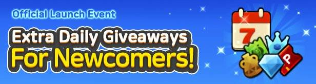60 Seconds Hero: Idle RPG: Events - [Official Launch Event] Extra Daily Giveaways for Newcomers! image 1