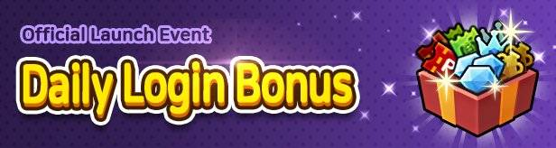 60 Seconds Hero: Idle RPG: Events - [Official Launch Event] Daily Login Bonus image 1
