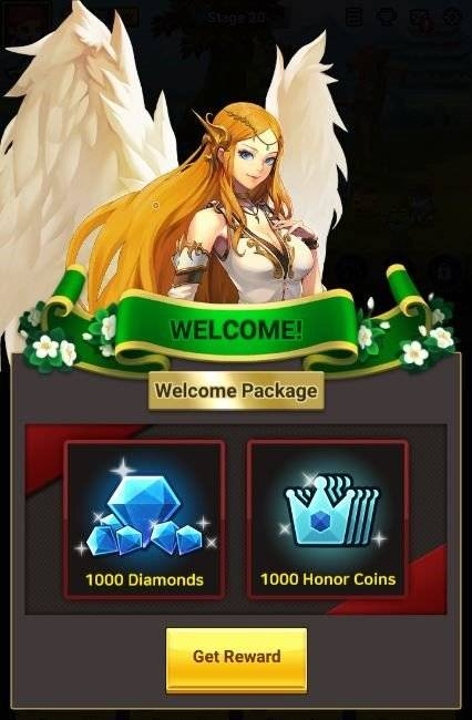 60 Seconds Hero: Idle RPG: Events - [Official Launch Event] Welcome Package for New Heroes image 7