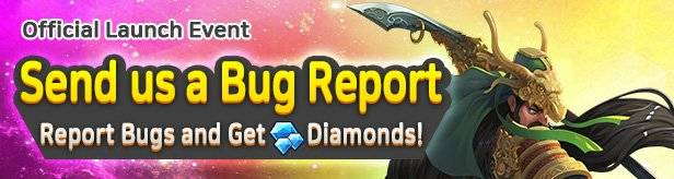 60 Seconds Hero: Idle RPG: Events - [Official Launch Event] Send us a Bug Report! image 1