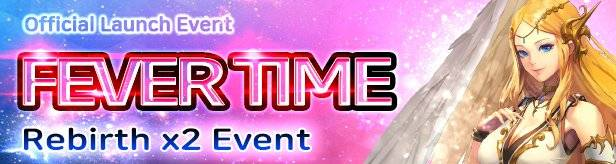 60 Seconds Hero: Idle RPG: Events - [Official Launch Event] FEVER TIME (Rebirth x2) Event! image 1