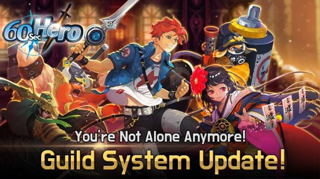 60 Seconds Hero: Idle RPG: FAQ's & Guides - [System] You're Not Alone Anymore! Guide to Guild System image 2