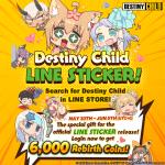 [Added] Destiny Child in Line Sticker! (+Indonesia)