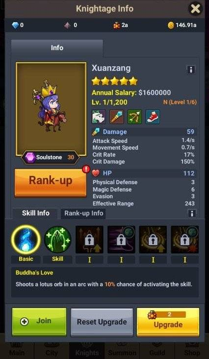 60 Seconds Hero: Idle RPG: Events - [Collection Event] Welcome the New Knights! image 7