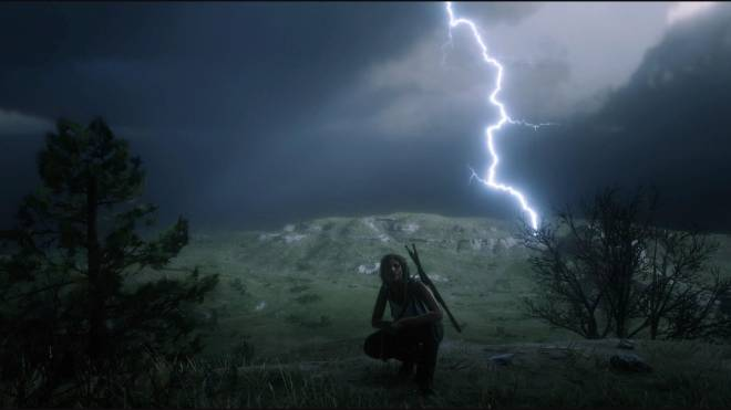 Red Dead Redemption: General - Chased a storm around the map for an hour for this shot image 1