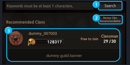 First Summoner: Game Guide - Clan image 4