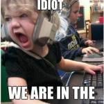 Stop shooting Idiot @.@!