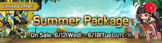 60 Seconds Hero: Idle RPG: Notices - [Limited Offer] Summer Package 6/12(Wed) – 6/18(Tue) image 1