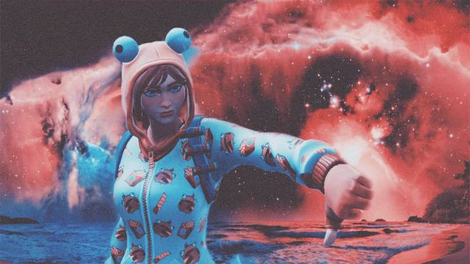 Fortnite: Battle Royale - One Snoozy Gal... 😴✨❗ (Onesie Showcase) {Carti x Queen Collab V2} image 3