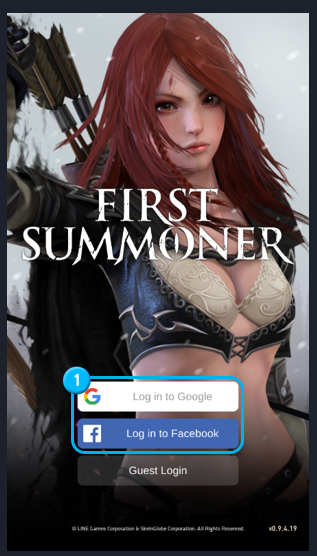 First Summoner: Game Guide - How to install and create an account image 17