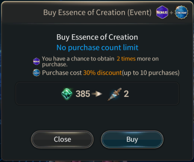 Hundred Soul: Events (Terminated) - [Event Notice] Day of Creation - Legendary Advent equipment added image 10