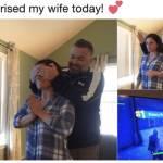 Honey, I got a surprise for you!