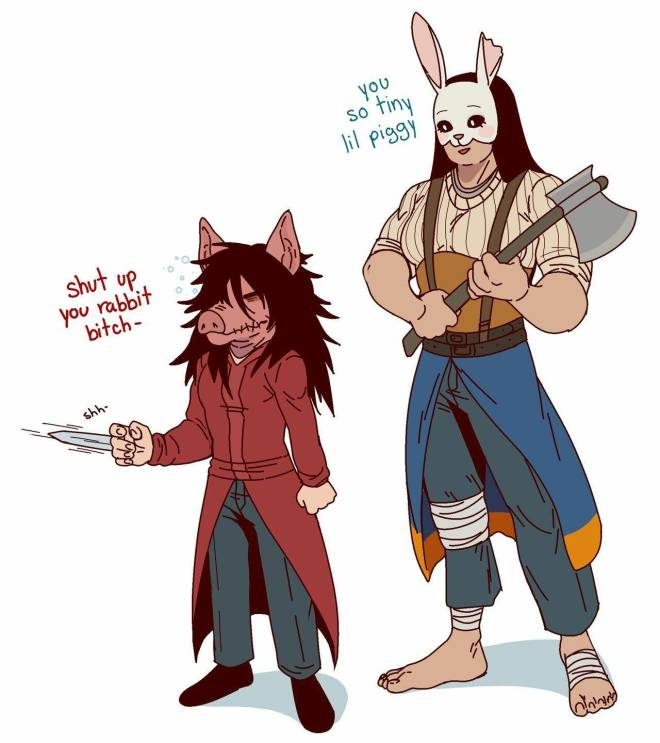 Dead by Daylight: Memes - The Huntress and The Pig  image 1