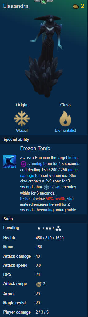 Teamfight Tactics: General - Quick guide to CHAMPIONS #2 ORIGINS-Part 1 image 19