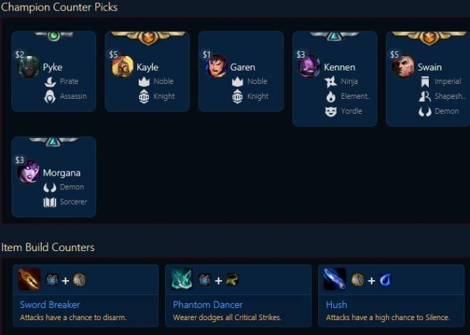 "Teamfight Tactics: General - TFT Encylopedia of CHAMPIONS ""E~G"" image 71"