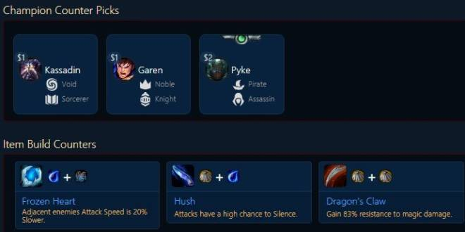 "Teamfight Tactics: General - TFT Encylopedia of CHAMPIONS ""E~G"" image 43"