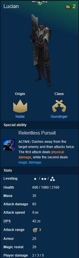 Teamfight Tactics: General - Quick guide to CHAMPIONS #3 ORIGINS-Part 2 image 17