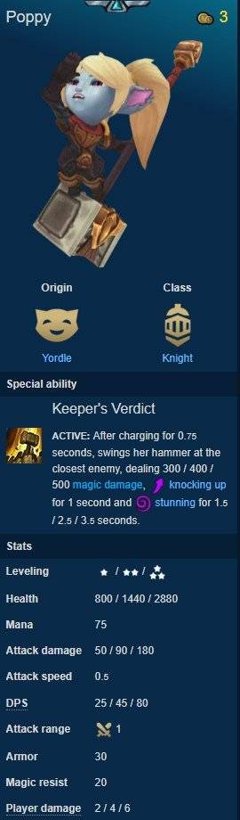 Teamfight Tactics: General - Quick guide to CHAMPIONS #4 ORIGINS-Part 3 image 18