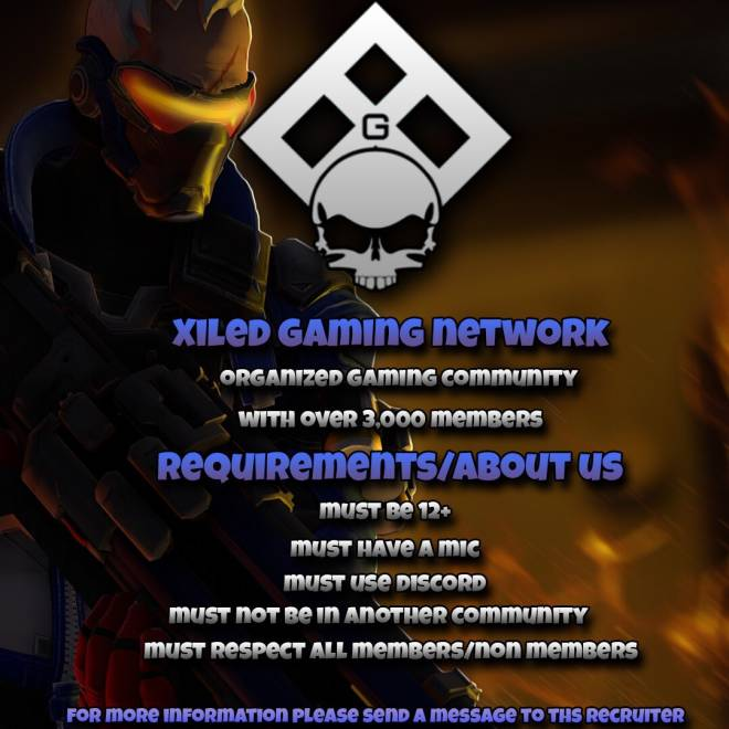 Overwatch: Promotions - XGN - Recruiting image 2