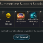 [Event Notice] Summertime Support Special