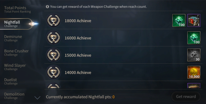 Hundred Soul: Events (Terminated) - [Event Notice] Challenge League image 4