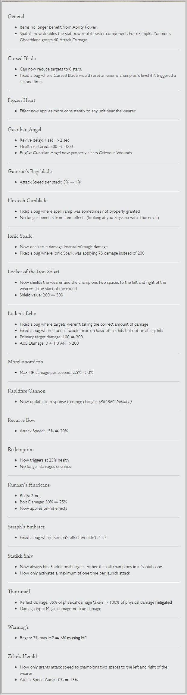 Teamfight Tactics: General - Teamfight Tactics Patch 9.14 notes image 20