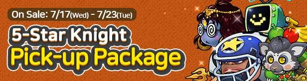 60 Seconds Hero: Idle RPG: Notices - Introducing 5-Star Knight Pick-up Package image 1