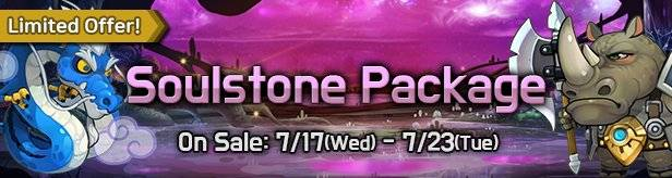 60 Seconds Hero: Idle RPG: Events - [Limited Offer] Soulstone Package 7/17(Wed) - 7/23(Tue) image 1
