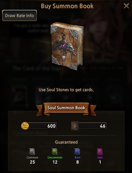 First Summoner: Game Guide - Summon Book image 3