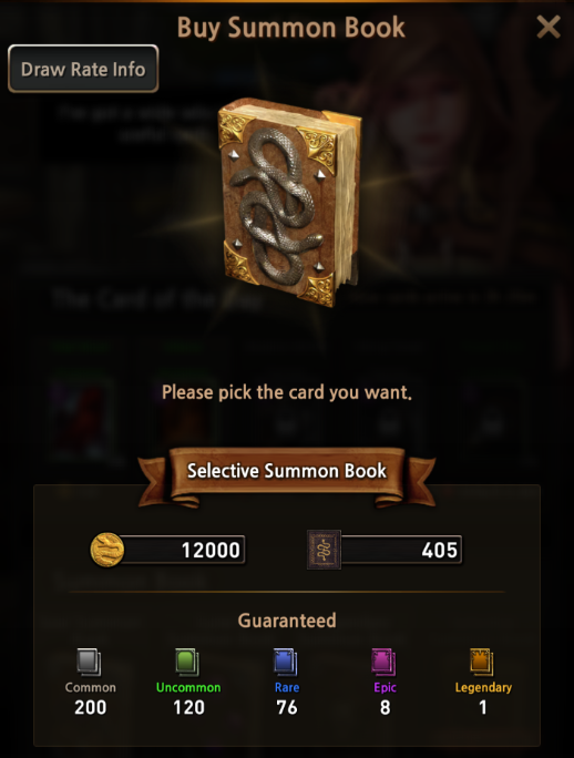 First Summoner: Game Guide - Summon Book image 21