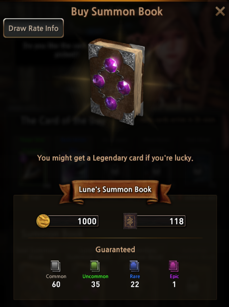 First Summoner: Game Guide - Summon Book image 7