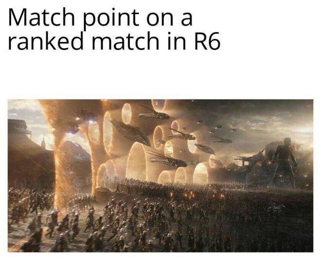 Rainbow Six: Memes - This is pretty true 🤣 also make sure to leave a follow if you enjoy the content thank u image 2