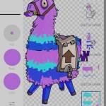 Llama Art