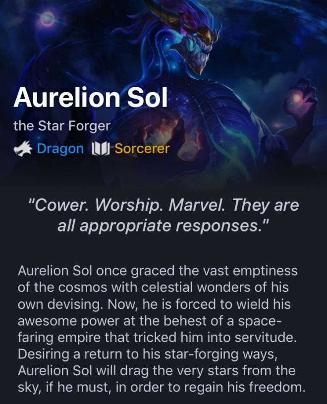 Teamfight Tactics: General - Aurelion Sol image 14