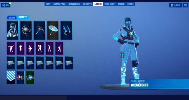 Fortnite: Battle Royale - Breakpoint skin combo 👀 image 2