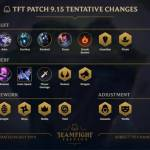 TFT 9.15 Changes Coming Soon with 4 Reworks