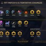 TFT Patch 9.15 Sumary