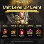Unit Level Up Event
