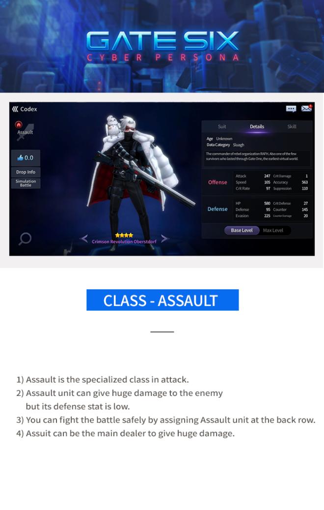 GATESIX: Game guide - Class image 1
