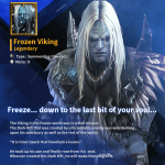 [Legendary Card] Frozen Viking
