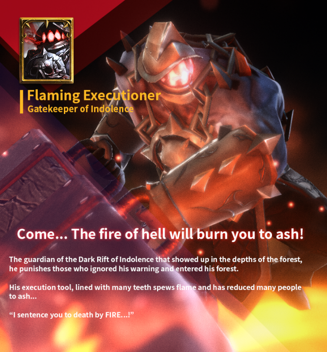 First Summoner: Game Guide - [Boss] The Fire Executioner image 4