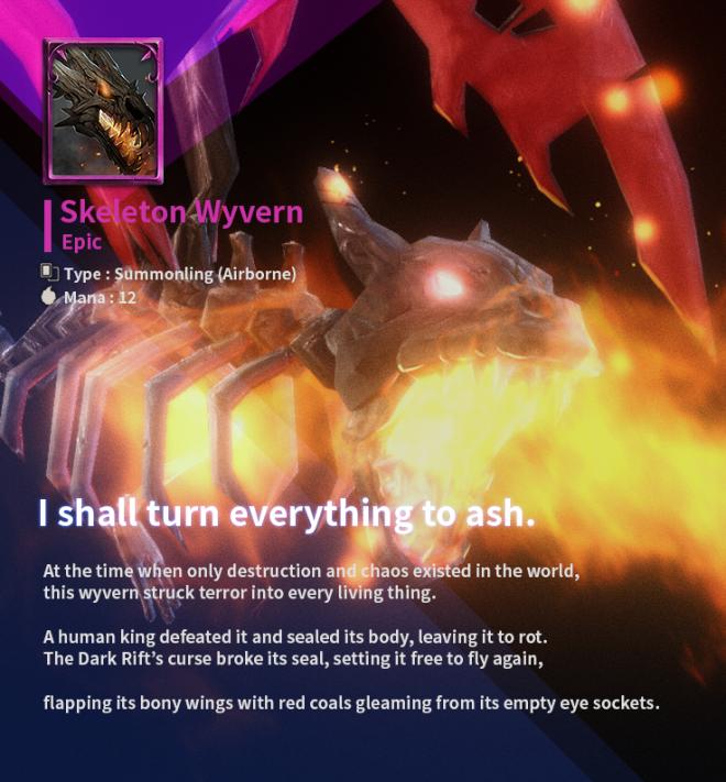 First Summoner: Game Guide - [Epic Card] Skeleton Wyvern image 4