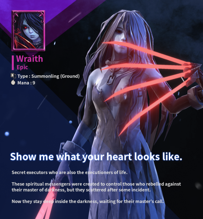 First Summoner: Game Guide - [Epic Card] Wraith image 4